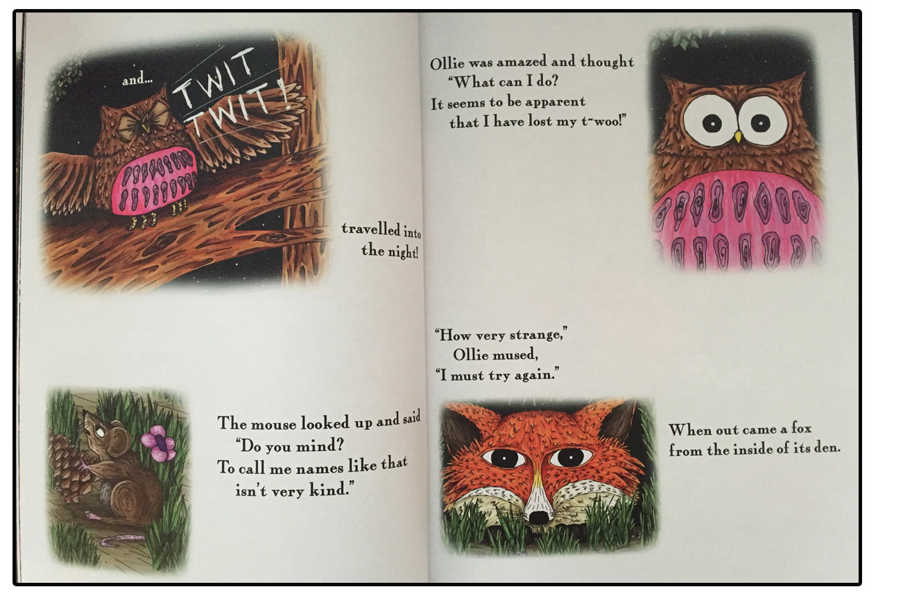 Suzie's Illustrations Are Bright, So Much Fun And Full Of Character And  Expression Her Fox Has The Wonderful Sly And Smart Look, And Ollie, My  Favourite