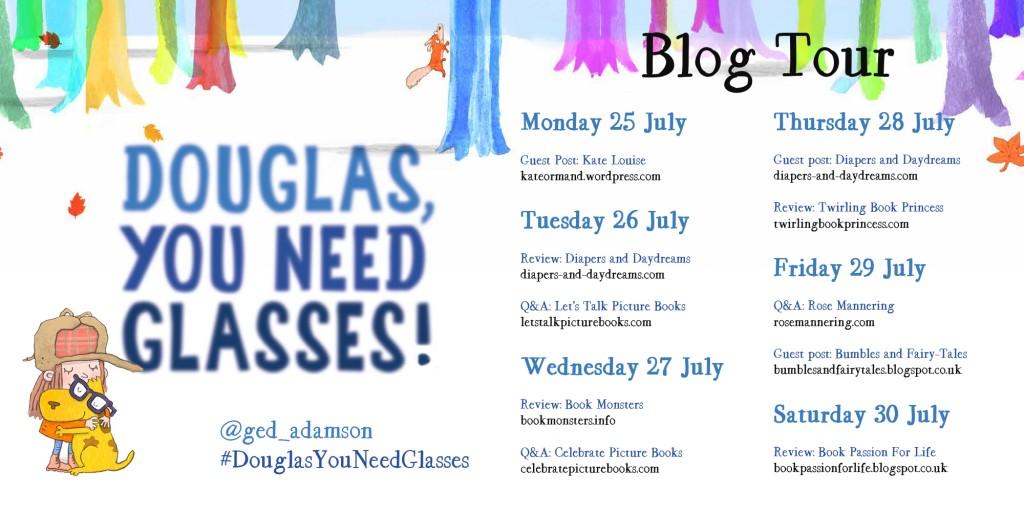 Douglas blog tour